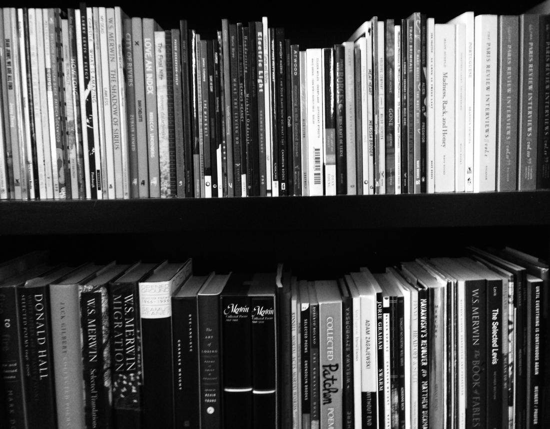 Poetry Shelves 2, December 2013