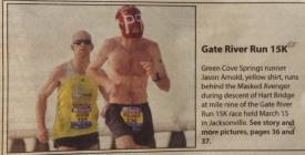 Gate River Run, 2014
